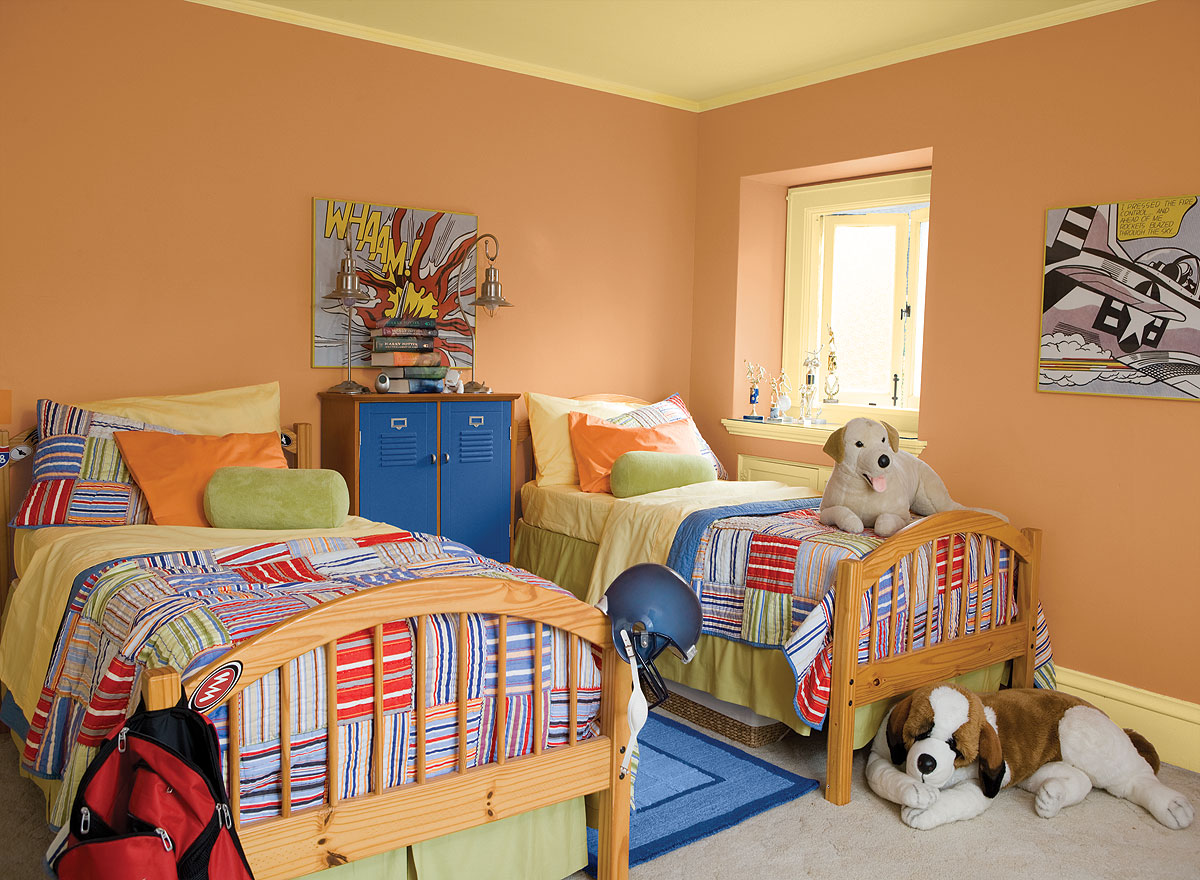 Wall Colours For Kids Rooms The 4 Best Paint Colors For Kids Rooms