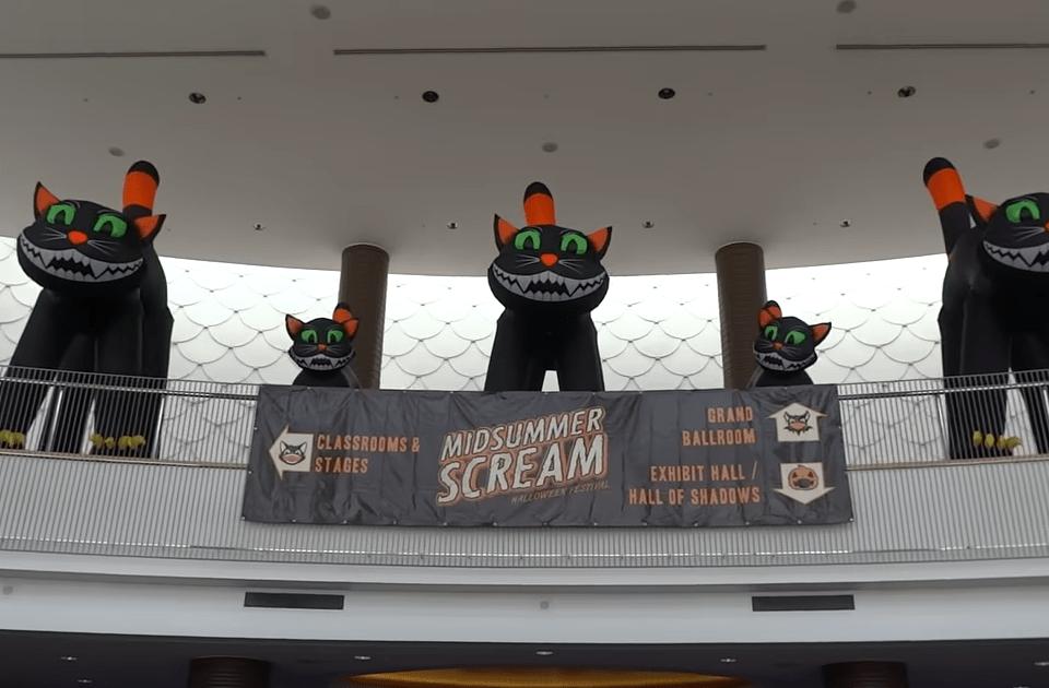 Inside the Magic video: Midsummer Scream 2016 – FULL walking tour of exhibit hall floor