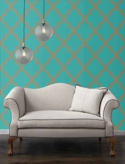 MG Decor: Removable Wallpaper For NYC Apartment Renters   Midtown Girl