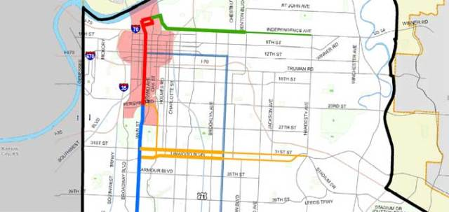 Streetcar expansion funding district