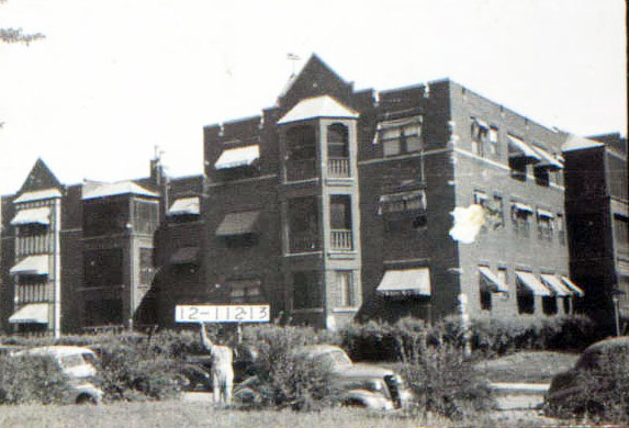 Apartment Building History do you know the history of this plaza block, 47th to 48th and
