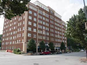 Residents are about to move into the newly-renovated Ambassador Apartments in the Uptown Arts District.
