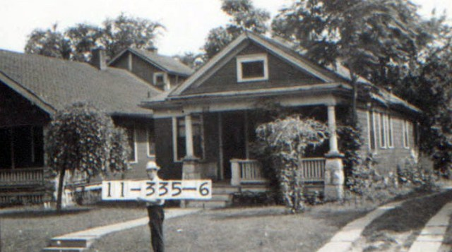 A Corbin Park home in 1940.