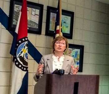 Jackson County Prosecutor Jean Peters Baker said the earnings tax is vital to law enforcement.