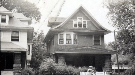 Families came and went over the years on this block of North Hyde Park. When Mrs. Carrie Curry Andrews died in 1963 at 3400 Holmes, she was a long-time resident, having lived in her home at 3400 Holmes since 1900. Mrs. Andrews was remembered for being active in improving the community, working on the board of the Trinity Methodist Church nearby on Armour Boulevard, with the Goodwill Industries auxiliary, and heading the Red Cross work room in World War II.