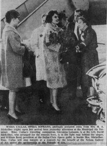 Another little slice of history on the block comes from 1956 newspaper clippings, which recorded the visit of Opera great Maria Callas to perform a concert for the Friends of Art of the Nelson Gallery. She was greeted at the airport by her friend David Stickelber, who lived south of the McCune home at 5311 Oak.