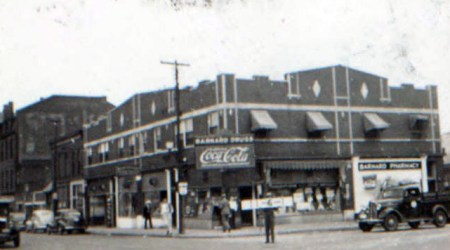 """This block around Thirty-first and Holmes became the center of sensational news headlines in 1929, when a """"dynamic little woman"""" named Maud Wilson smashed up a """"soda drink"""" establishment she said had sold liquor to her daughter and husband."""