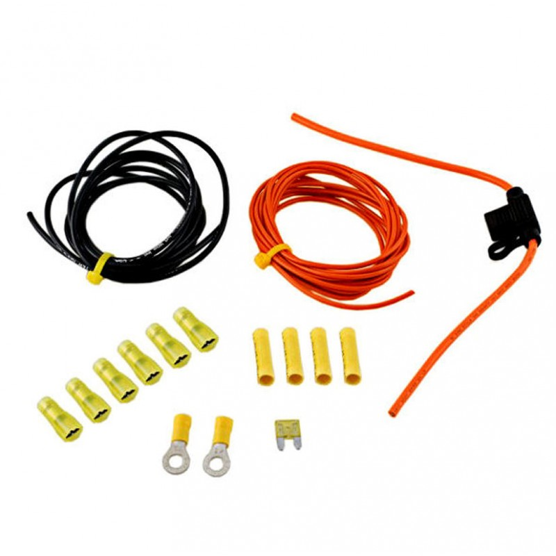 Wolo Horn Wiring Kit For Cars Trucks And Motorcycles Hwk1 Advance