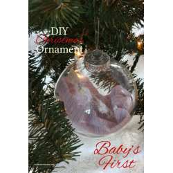 Small Crop Of Baby First Christmas Ornament