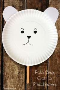 Polar Bear Craft For Preschoolers - Midwestern Moms
