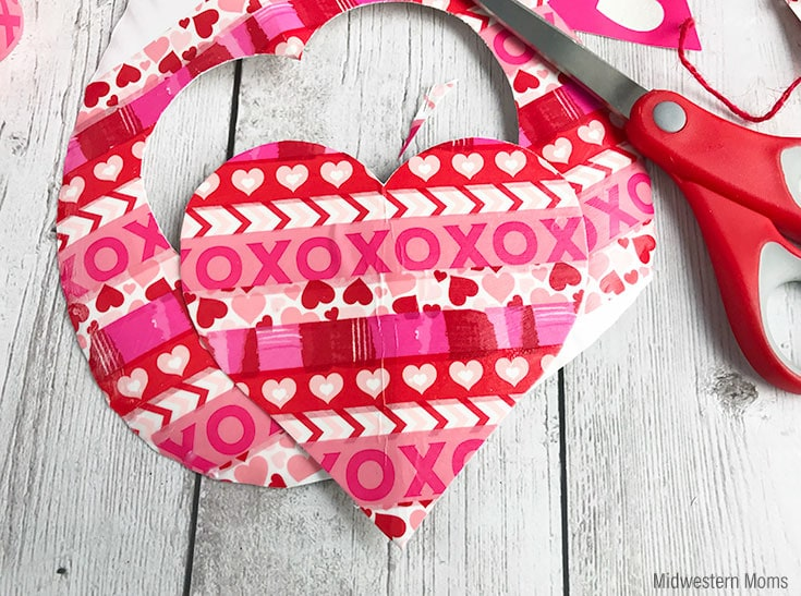How To Make A Washi Tape Valentine Card Kids Will Love