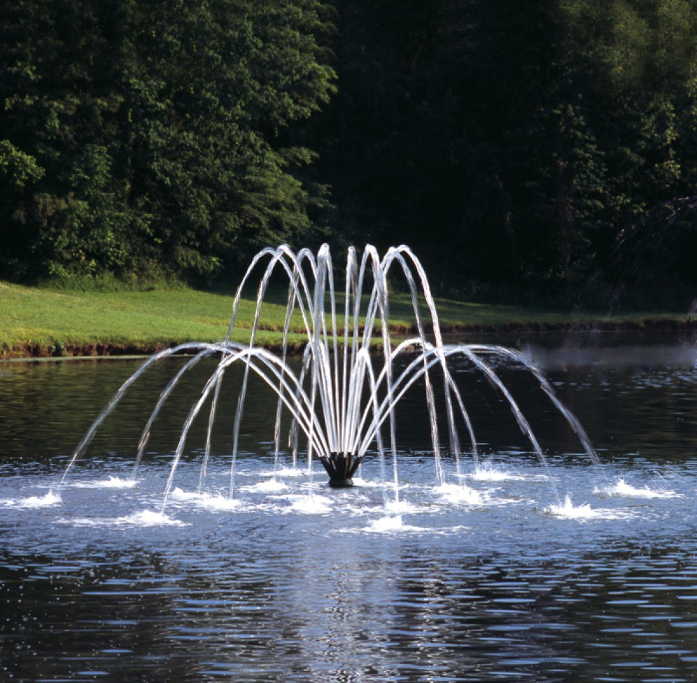 Pond And Lake Fountains Aeration Midwest Lake