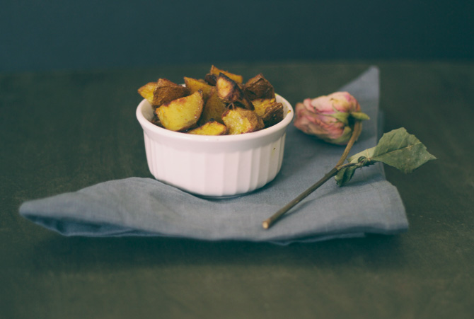easy recipe for oven-roasted baby red potatoes #midwestlovefest