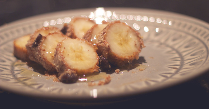frozen banana bites = perfect snack for summer - midwestlovefest.com