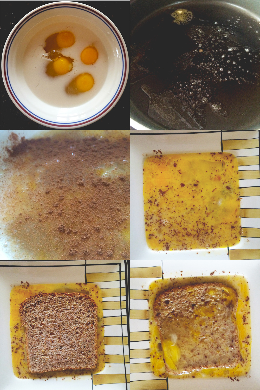 healthy (yes, healthy!) french toast