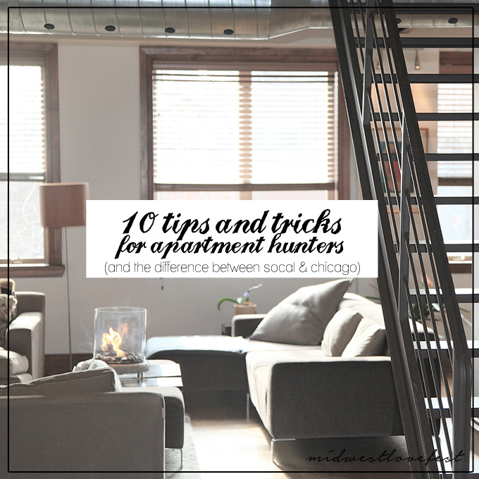let's go apartment hunting!
