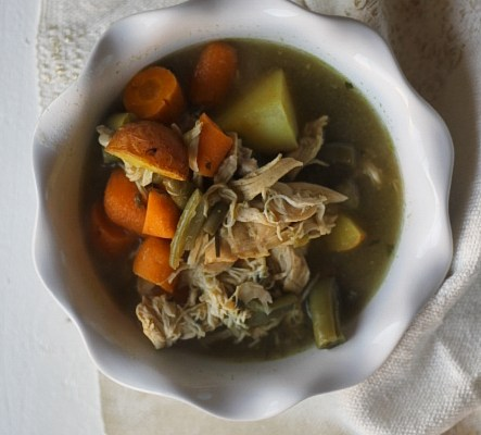The Busy Babe's Chicken Soup Recipe | MidwestLoveFest