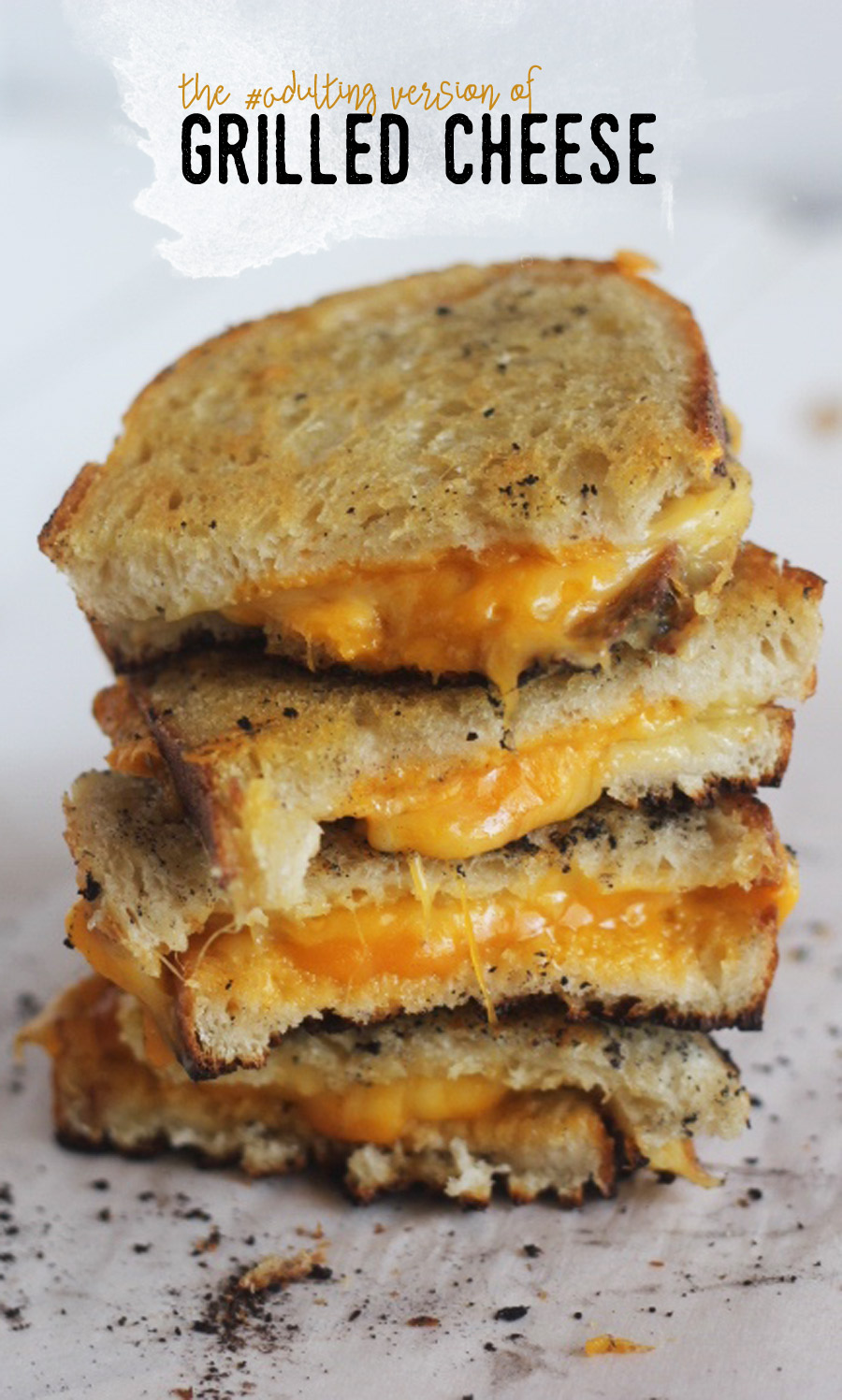 not so average grilled cheese