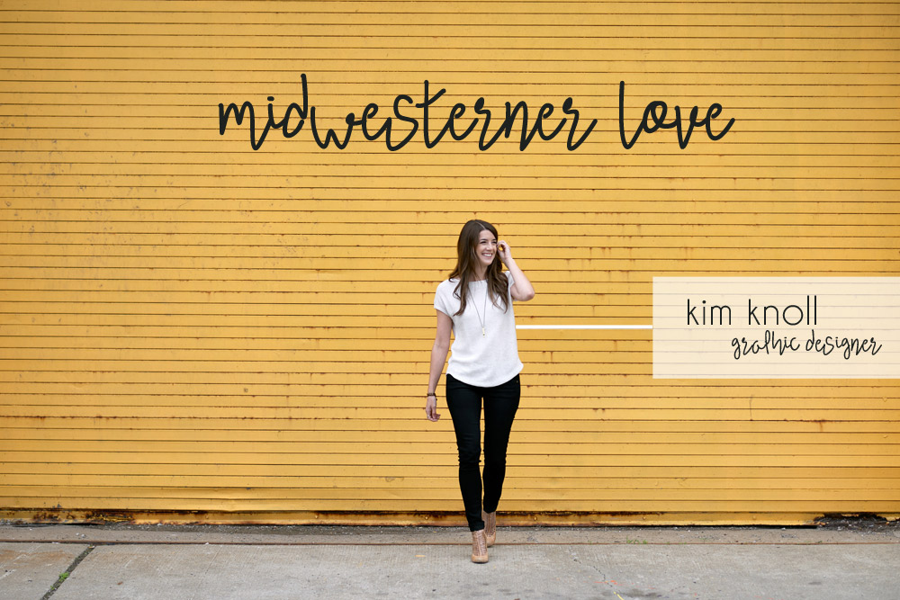 midwesterner love: kim of knoed creative