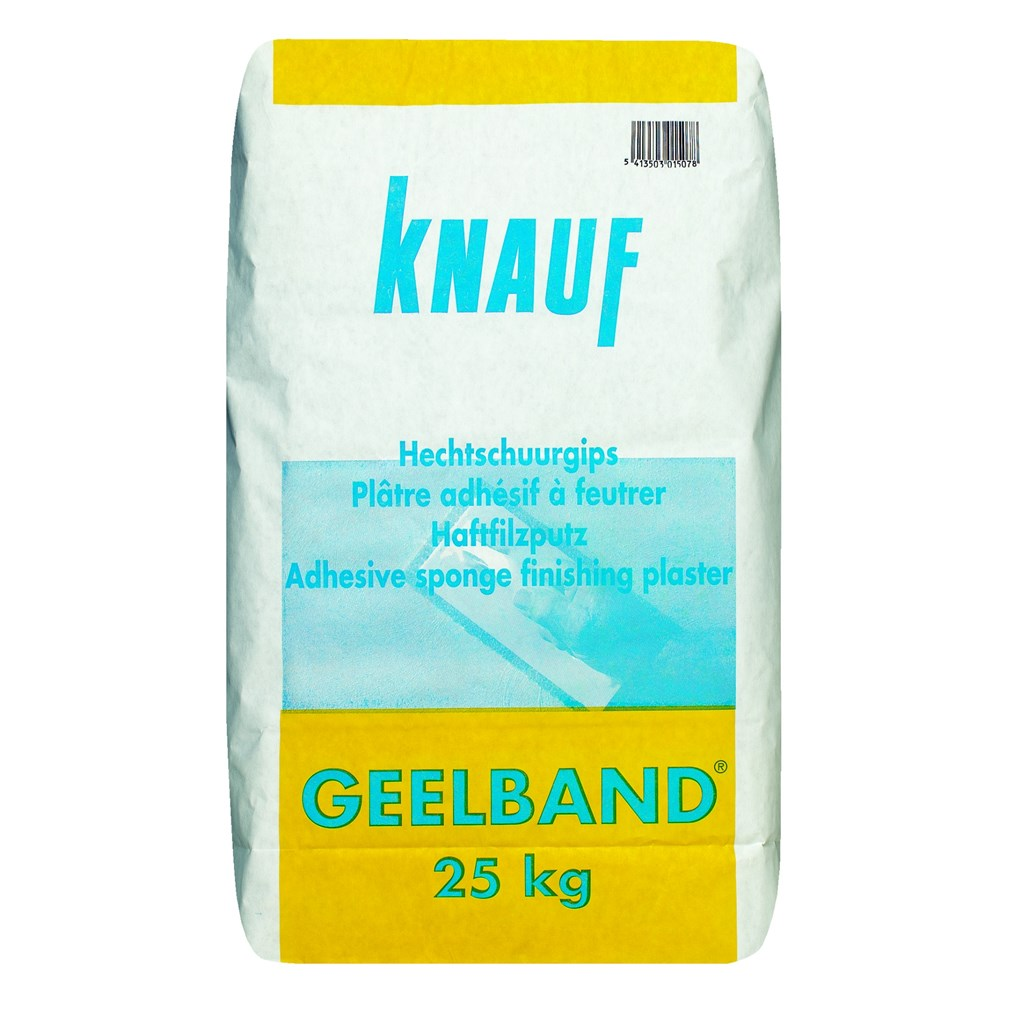 Geelband Of Roodband Knauf Geelband Hechtmortel 25 Kg