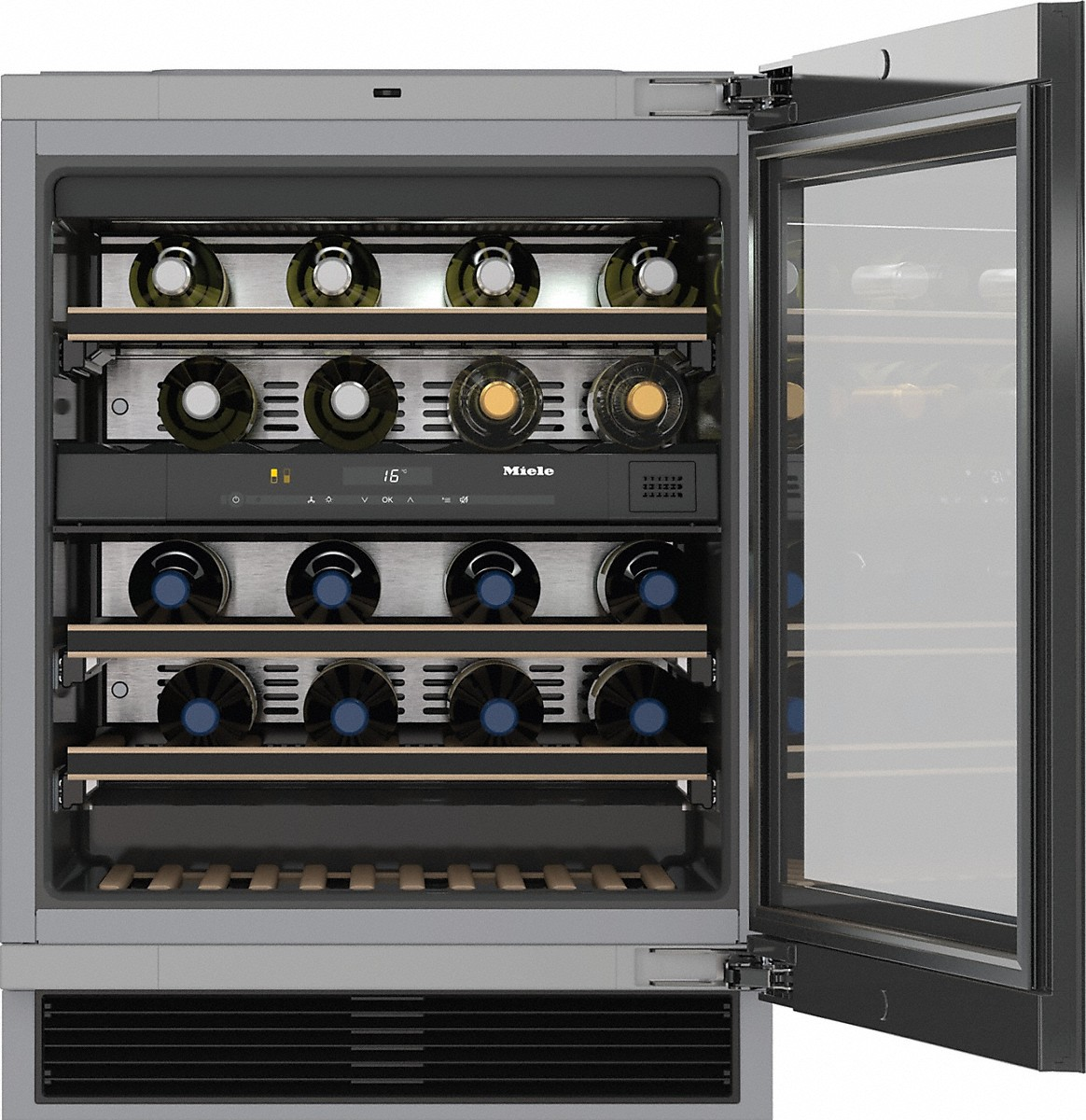 Weinschränke Bosch Miele Kwt 6322 Ug Built Under Wine Conditioning Unit