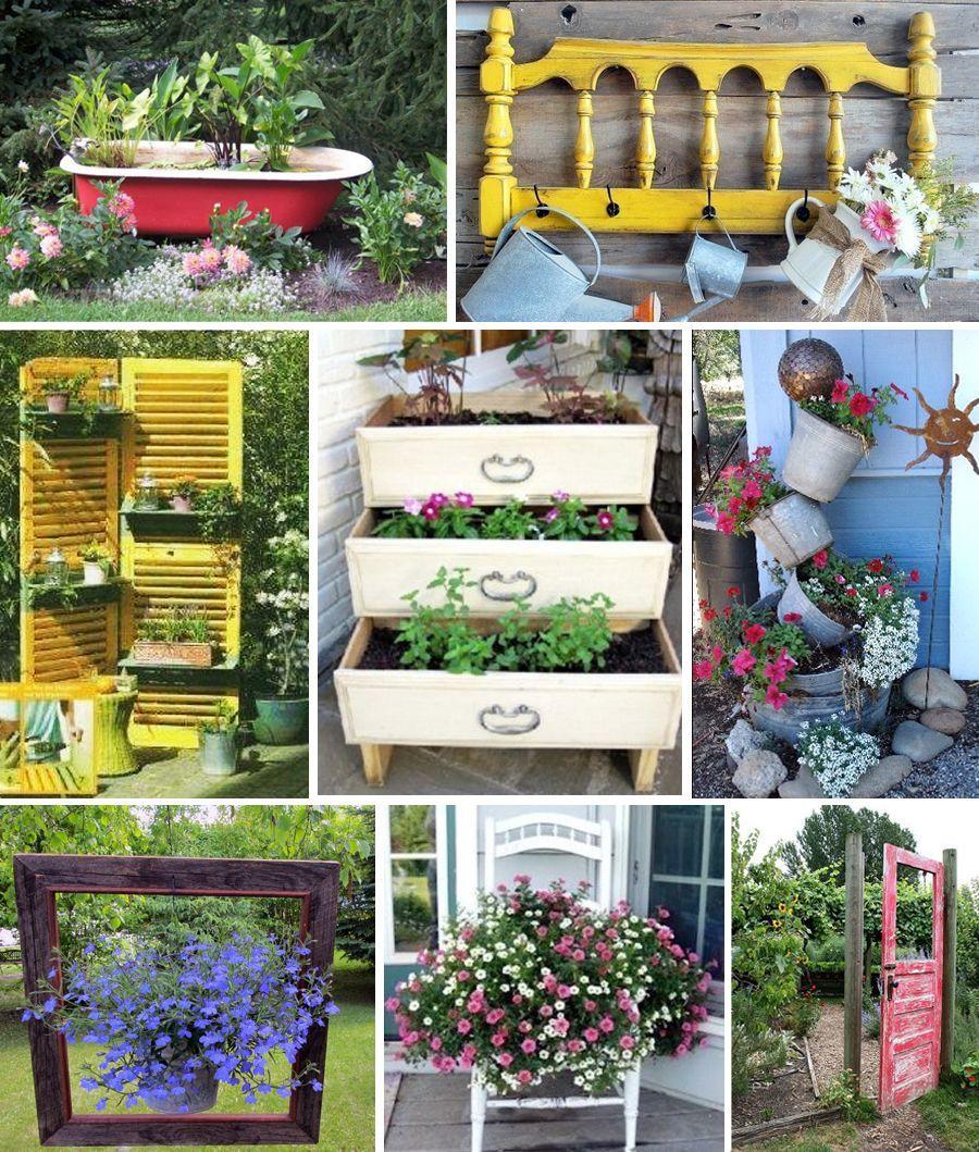 deco jardin recup gratuit recup deco jardin top deco jardin recup fraisment decorer son. Black Bedroom Furniture Sets. Home Design Ideas