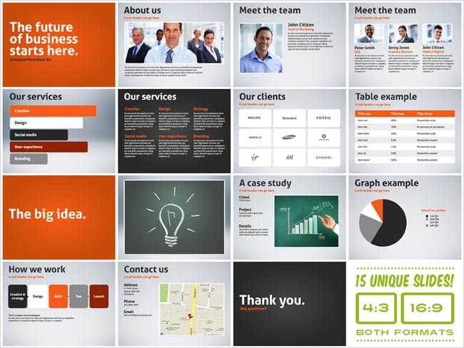 5 Minute Business Plan Pitch Powerpoint