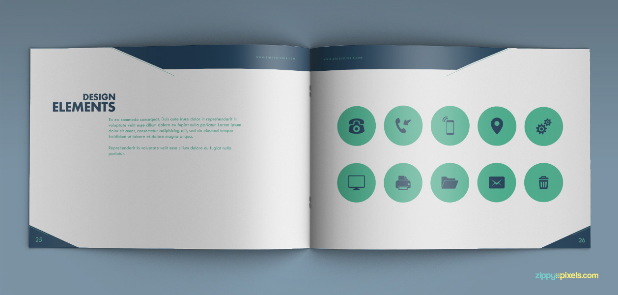 Bundle of 20 Brand Book Templates from ZippyPixels - only $17