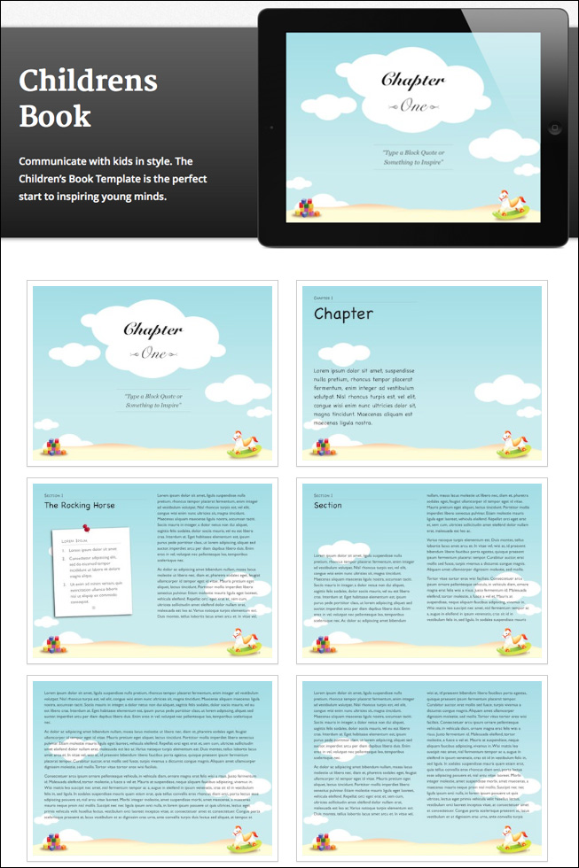 10 Creative iBooks Author Templates - only $39! - MightyDeals