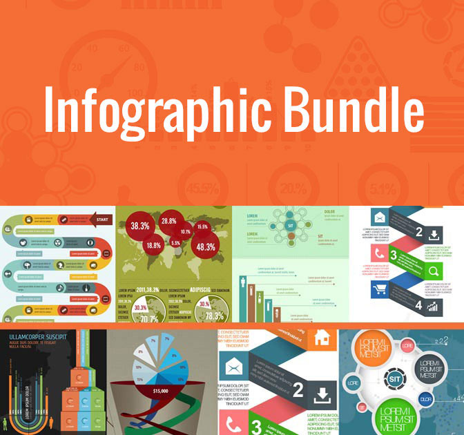 LAST DAY Massive Infographic Bundle (100+ templates) - only $27