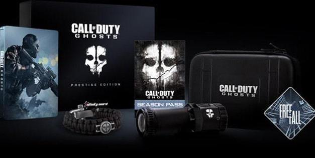Call of Duty: Ghosts Prestige Edition will include a 1080p action camera