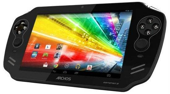 Archos GamePad 2 with quad-core CPU, higher-res display