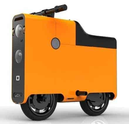 BOXX scooter suitcase