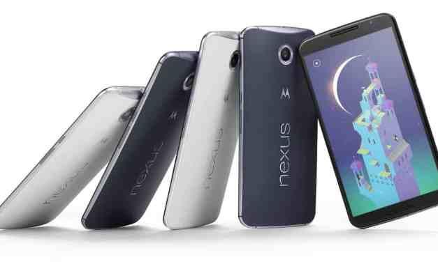 Google Nexus 6 Phone Announced