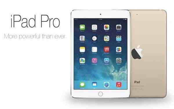 New 12.9-inch Apple iPad Pro Announced