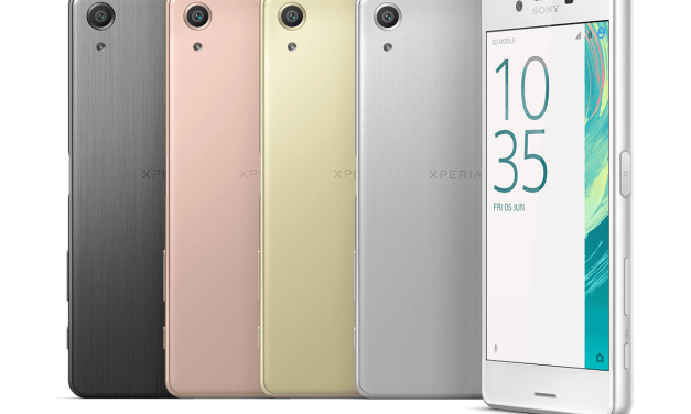Sony Announce Mid-Range Xperia X and XA Phones