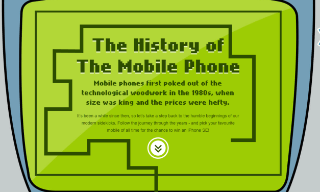 Infographic: The History of Mobile Phones