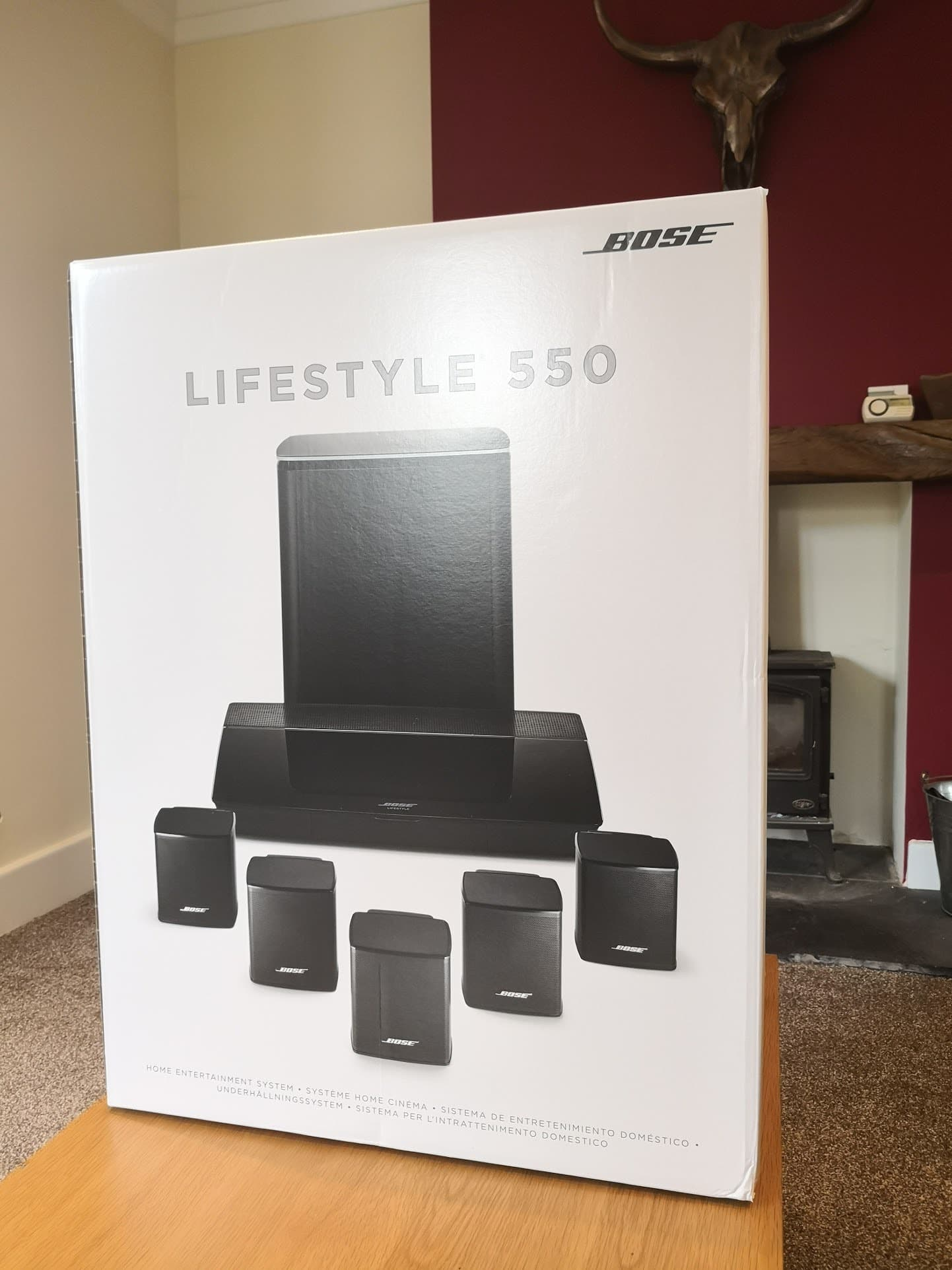 Bose Home Cinema Bose Lifestyle 550 Home Entertainment System Black