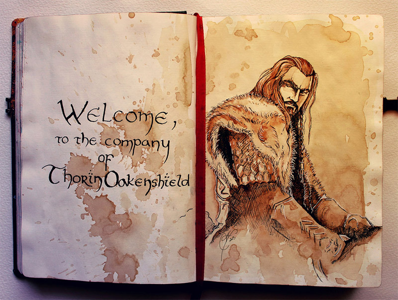Lee Pace The Fall Wallpaper Tolkien Traditional Watercolor Paintings Mightymega