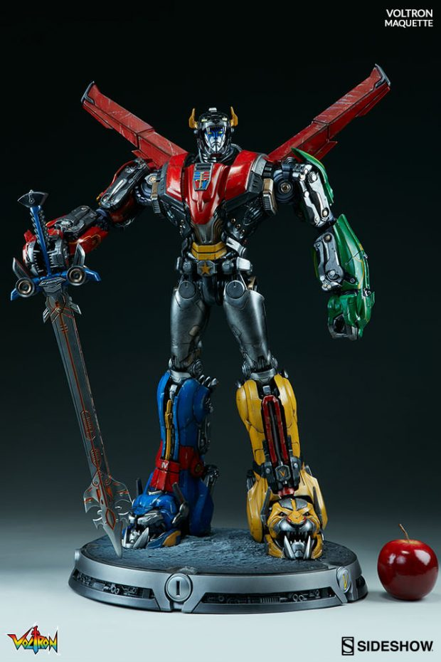 Voltes V Wallpaper Hd Sideshow Collectibles Voltron Maquette Mightymega