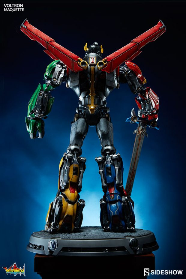 D Wallpaper Sideshow Collectibles Voltron Maquette Mightymega