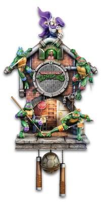 Teenage Mutant Ninja Turtles Lighted Clock - MightyMega