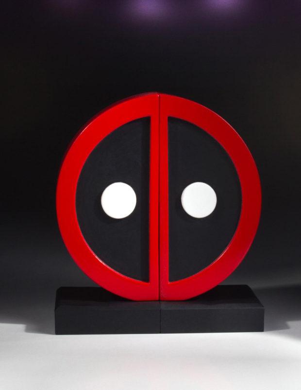Deadpool Logo Wallpaper Hd Gentle Giant Deadpool Logo Bookends Mightymega