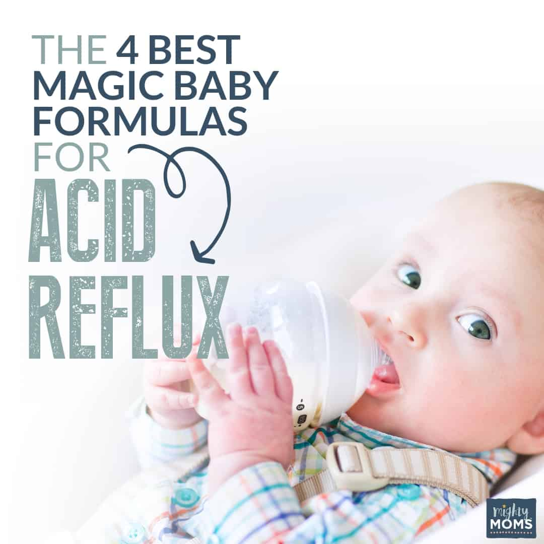 Infant Reflux Formula Vs Breast Milk The 4 Magic Best Baby Formulas For Acid Reflux Mightymoms Club