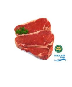 tbone steak grass fed beef bingil bay msa graded