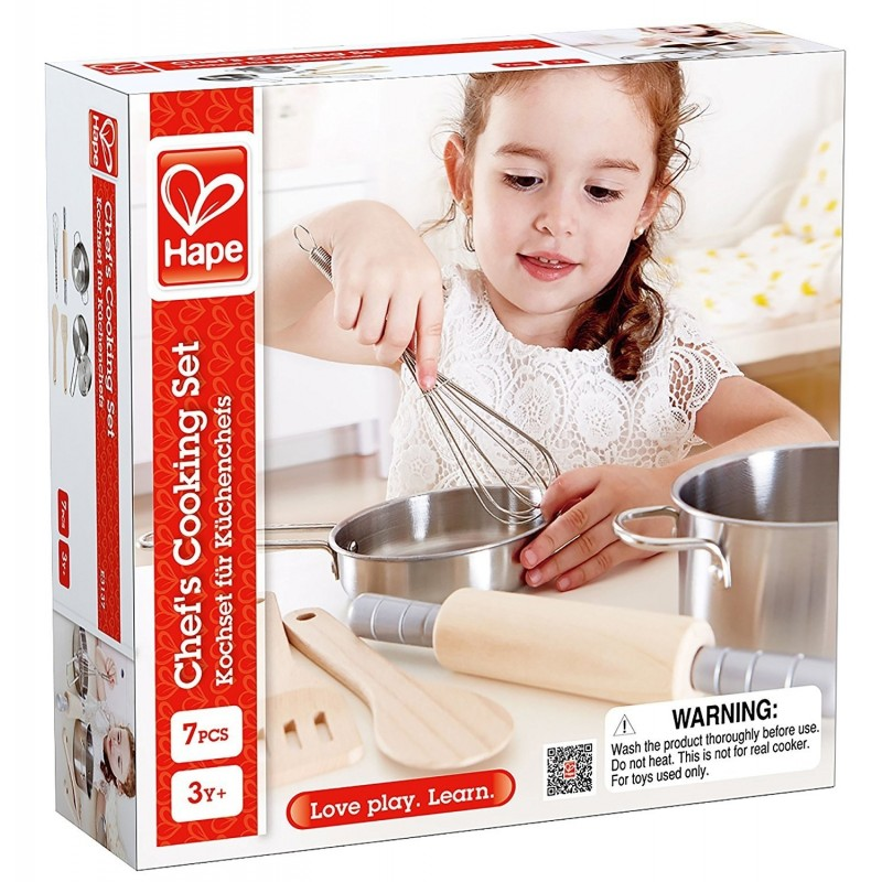 Küchenchefs Tv Now Hape Chef S Cooking Set