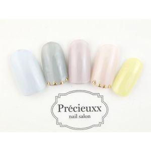 pink nail