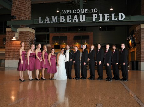 W-wedding-party-lambeau-field-2