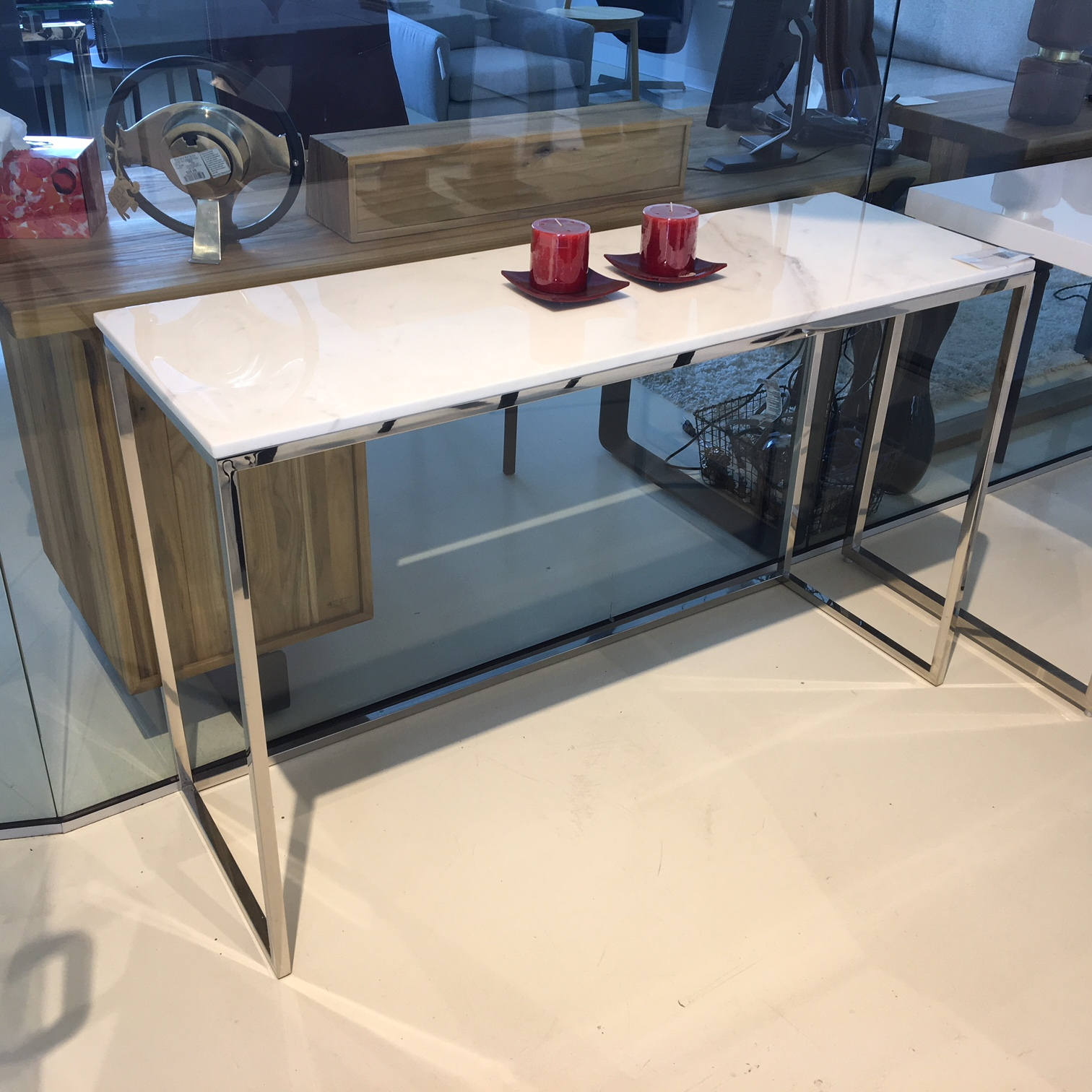Furniture Liquidation Ottawa Kube Marble Tables Mikaza Meubles Modernes Montreal