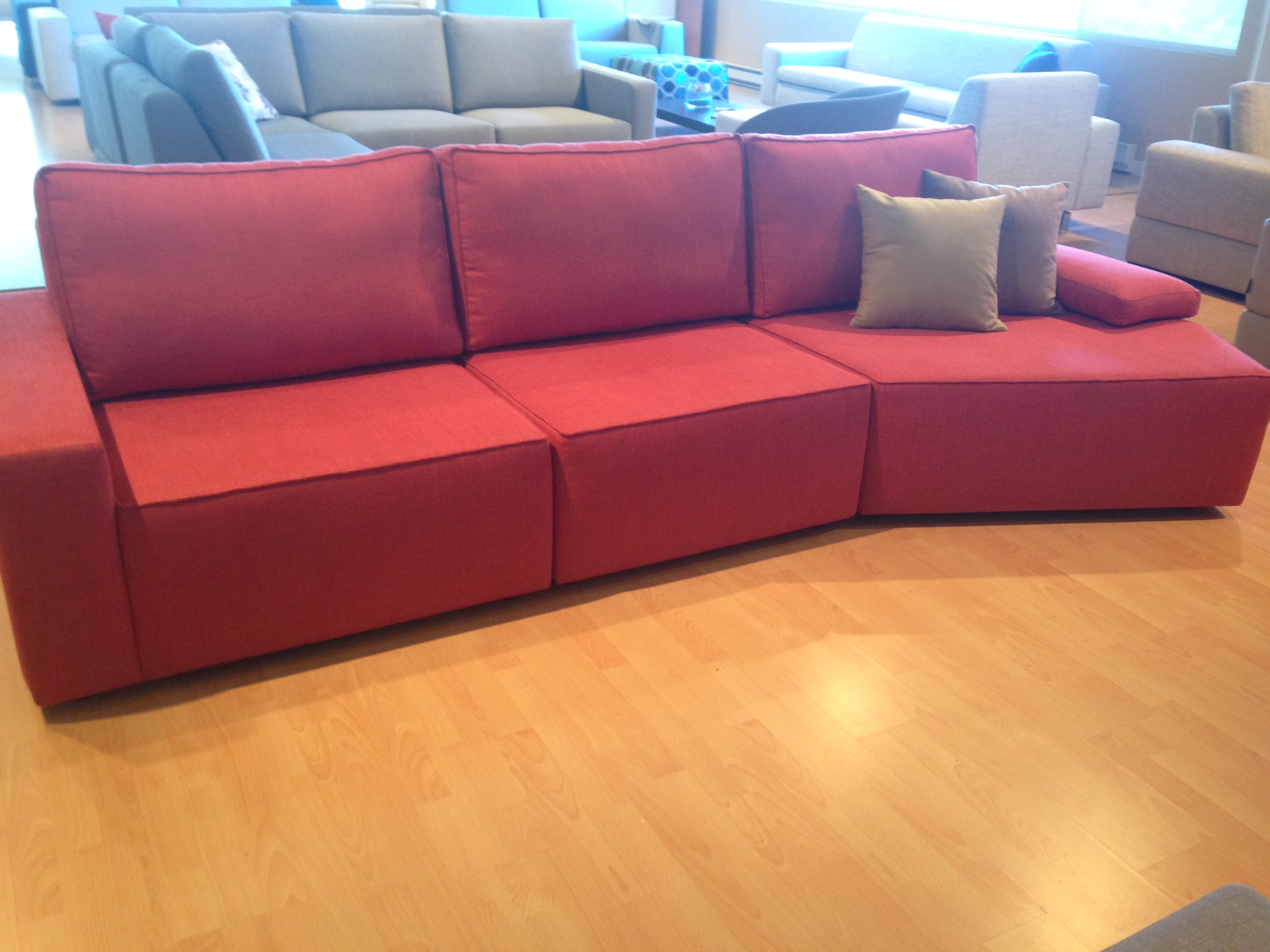Sectional Sofas Montreal On Sale Qubik Modular Sectional - Mikaza Meubles Modernes Montreal